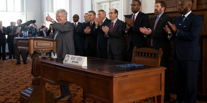Governor Signs Rebuild Alabama Act into Law